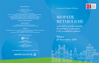 Miopatie metaboliche 29 11 2019